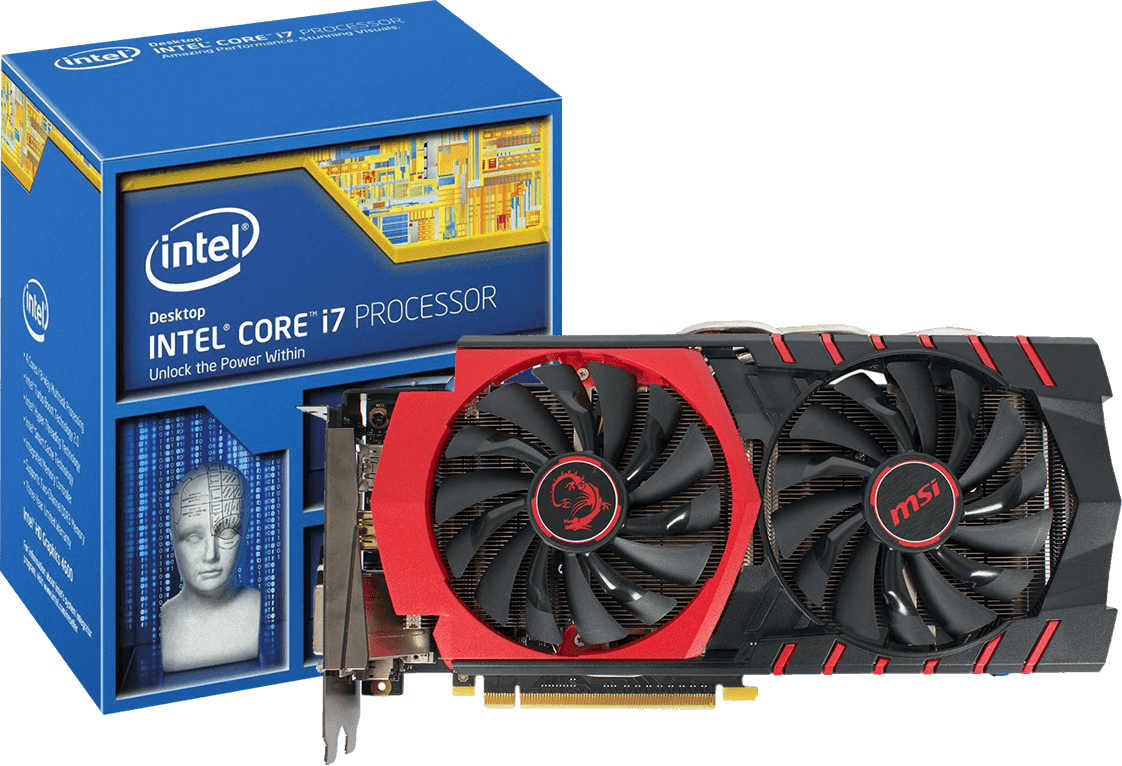 Win an Intel Core i7-5820K proccessor and MSI GTX 960 video graphics