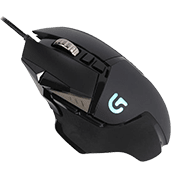 Logitech G502 Proteus Spectrum Wired RGB Tunable Gaming Mouse-200-12000 DPI; Programmable RGB Lighting