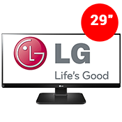 "29"" [2560 x 1080] LG 29UB55-B UltraWide IPS Monitor -- 5 ms response + 60Hz-Single Monitor"