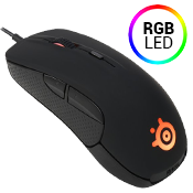SteelSeries Rival 300 Optical Gaming Mouse-50-6500 CPI; 16.8 Million Colors