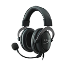 HyperX Cloud II Gaming Headset - Virtual 7.1 Surround Sound-[Gun Metal] Virtual 7.1 surround sound