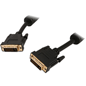 10 ft. DVI-D(M) to DVI-D(M) Dual Link Cable-Gold Plated Connector