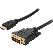10 ft. Rosewill HDMI to DVI Cable-Broadcast quality performance, tested to pass 1080p