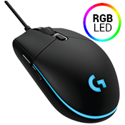 Logitech G Pro Gaming FPS Mouse-200-12000 DPI optical sensor w/ Custom RGB lighting