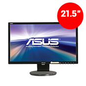 21.5'' [1920x1080] ASUS VE228H LED Monitor -- 5ms response time + built in speakers-Single Monitor