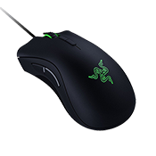 Razer Deathadder Elite Mouse-16000 DPI 5G laser sensor; customizable lighting