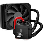DEEPCOOL Captain 120EX 120mm Liquid CPU Cooling System - Black