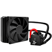 DEEPCOOL Captain 120EX 120mm Liquid Cooling System-[X299, Z370]