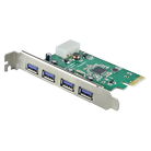 PCI-Express USB 3.0 4-Port Card