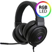 Razer Kraken 7.1 V2 Chroma Gaming Headset-Advanced 7.1 virtual surround sound engine and audio calibration