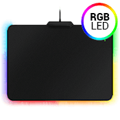 Razer Firefly-Cloth RGB Gaming Mouse Mat-[355MM x 255MM x 4MM] Micro-textured Surface; 16.8M customizable Chroma lighting