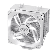 DEEPCOOL Gammaxx 400 CPU Cooler - White-White