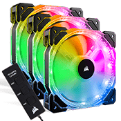 3x [RGB] CORSAIR HD120 High Performance PWM 120mm Fan