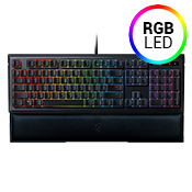Razer Ornata Chroma Keyboard-Mecha-Membrane keys; Full spectrum customizable Chroma backlight keys