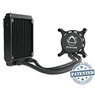 Asetek 550LC 120mm Liquid CPU Cooler-Standard 120mm Fan [Revolt]