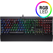 Corsair K55 RGB Gaming Keyboard-Three-Zone Dynamic RGB Backlighting