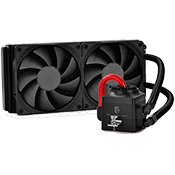 DEEPCOOL Captain 240EX 240mm Liquid CPU Cooling System - Black-[Ryzen]