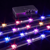 Corsair RGB Lighting Node Pro-4x Individually addressable RGB LED strips