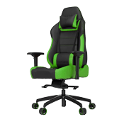 Vertagear Racing series PL6000 Gaming Chair [Black/Green]