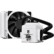 DEEPCOOL Captain 120EX 120mm Liquid CPU Cooling System - White-[Ryzen]