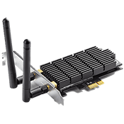 TP-Link Archer T6E AC1300 Wireless Network Card 802.11ac Dual-Band (2.4GHz/5GHz) up to 867 Mbps