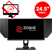 24.5'' [1920 x 1080] BenQ ZOWIE XL2540 LED Monitor -- 1ms response time + 240Hz refresh rate-Single Monitor