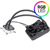 EVGA CLC 120mm Liquid CPU Cooler-RGB LED