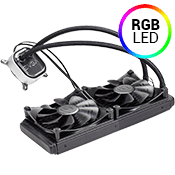 EVGA CLC 280mm Liquid CPU Cooler-RGB LED