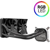 EVGA CLC 280mm Liquid Cooling System-RGB LED