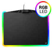 Corsair MM800 Polaris RGB Micro-Textured Hard Surface Mouse Pad-[351MM x 259MM x 5MM] 15 zone RGB LED customizable lighting
