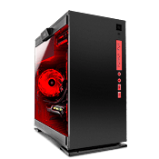 In Win 301 Tempered Glass Gaming Case - Black