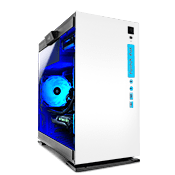 In Win 301 Tempered Glass Gaming Case - White