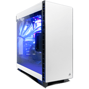 Corsair Carbide Series 400C Gaming Case - White-White