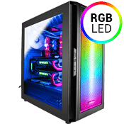 Raidmax Alpha RGB Gaming Case-Black