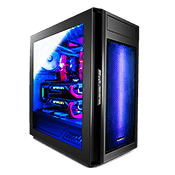 Raidmax Alpha RGB Gaming Case - Black-Black