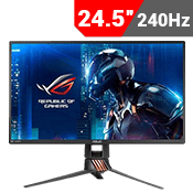 24.5'' [1920x1080] ASUS ROG SWIFT PG258Q Gaming Monitor w/ Eye Care -- 240Hz 1ms + G-Sync-Single Monitor