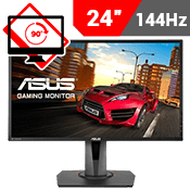 "24"" [1920x1080] ASUS MG248QR Gaming Monitor w/ Eye Care -- 144Hz 1ms + AMD FreeSync-Single Monitor"