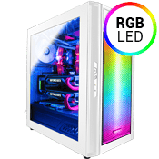 Raidmax Alpha RGB Gaming Case-White