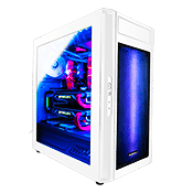 Raidmax Alpha RGB Gaming Case - White-White