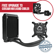 Asetek 550LC 120mm Liquid CPU Cooler-Standard 120mm Fan - *Free Upgrade to Corsair H60 Liquid Cooling*
