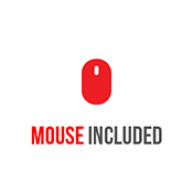 MOUSE INCLUDED-iBuyPower Gaming Mouse