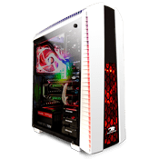 Thermaltake Versa N27 Gaming Case - White-White