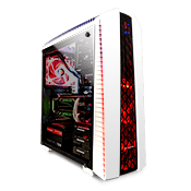 Thermaltake Versa N27 Gaming Case-White