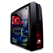 iBUYPOWER Tt Versa N27 Gaming Case - Black-Black