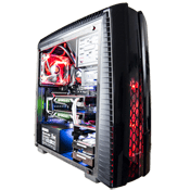 Thermaltake Versa N27 Gaming Case-Black