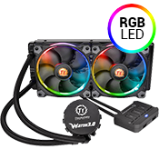 Thermaltake Water 3.0 Riing 240mm RGB Liquid Cooler-[Ryzen]