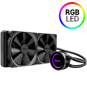 NZXT Kraken X62 280mm Liquid Cooling System-comes with all fittings