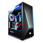 iBUYPOWER Trace Tempered Glass RGB Gaming Case