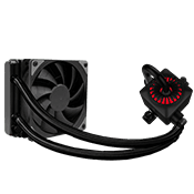 DEEPCOOL Captain 120EX Gamer Storm 120mm Liquid Cooling System-RGB [Ryzen]