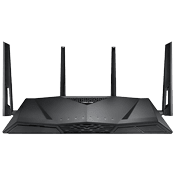 [802.11a/b/g/n/ac] ASUS RT-AC3100 Wireless AC3100 Dual Band Gigabit Gaming Router-Up to 3167Mbps, dual 2.4GHz/5GHz bands
